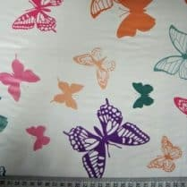 Butterfly PVC table cloth sewing bee fabrics