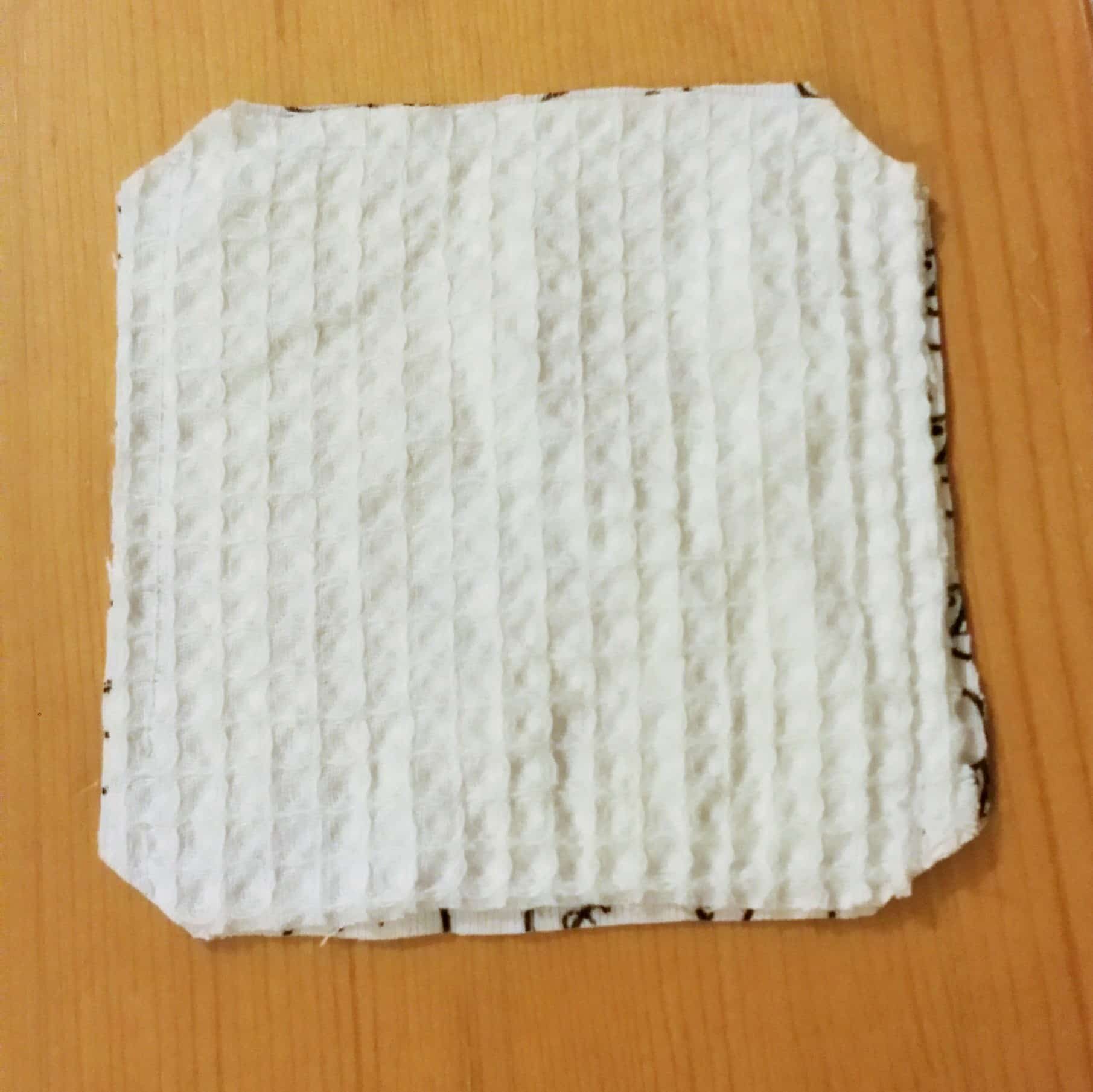 Reusable washable face wipes sewing bee fabrics