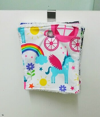 Free tutorial reusable kitchen wipes sewing bee fabrics kitchen towel roll wipe reusable washable eco unpaper tutorial sewing bee fabrics hanging solutioingenieria Choice Image