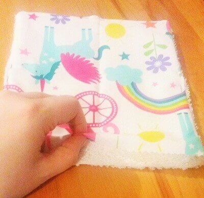 Free tutorial reusable kitchen wipes sewing bee fabrics eco friendly kitchen wipes sewing tutorial turning fabric solutioingenieria Choice Image