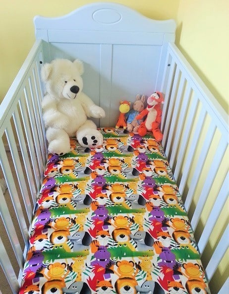 Make Your Own Fitted Bed Sheet Tutorial Sewing Bee Fabrics Baby Cot Bed