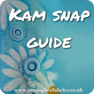 How To Use KAM Snaps | Sewing Bee Fabrics