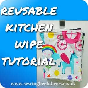 Free tutorial reusable kitchen wipes sewing bee fabrics how to sew your own easy kitchen cloth wipes free sewing tutorial solutioingenieria Choice Image