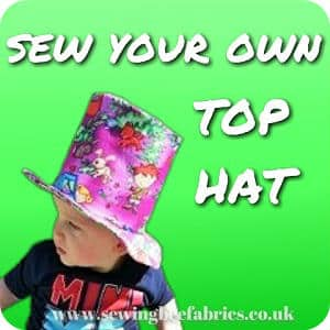 make your own top hat sewing bee fabrics