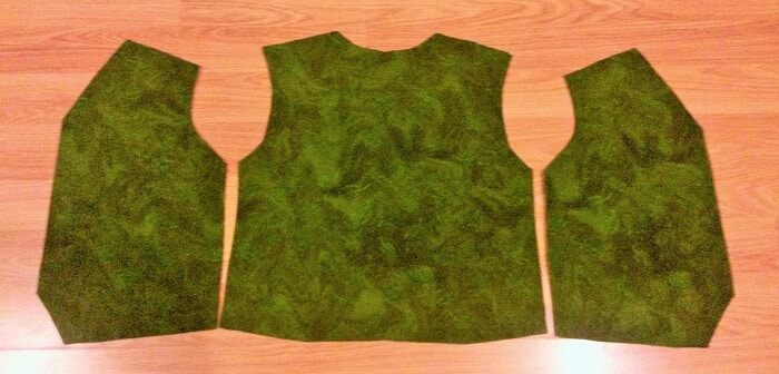 How to sew an easy reversible waistcoat   Sewing Bee Fabrics