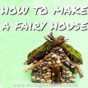 diy pebble fairy house tutorial sewing bee fabrics. Black Bedroom Furniture Sets. Home Design Ideas