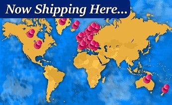 International fabric shipping - online sewing shop