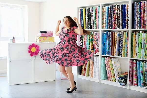 Free Scuba Dress Pattern   Sewing Bee Fabrics