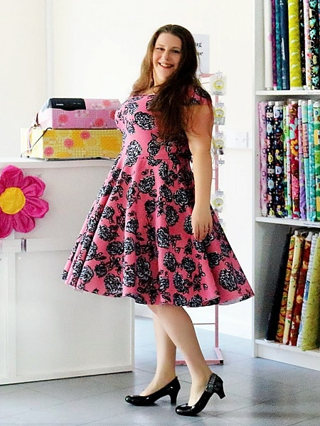 Free Scuba Dress Pattern | Sewing Bee Fabrics