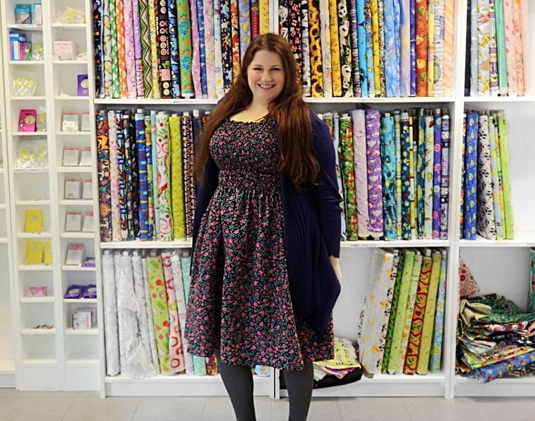 DIY Shirred Cotton Bodice Dress   Sewing Bee Fabrics